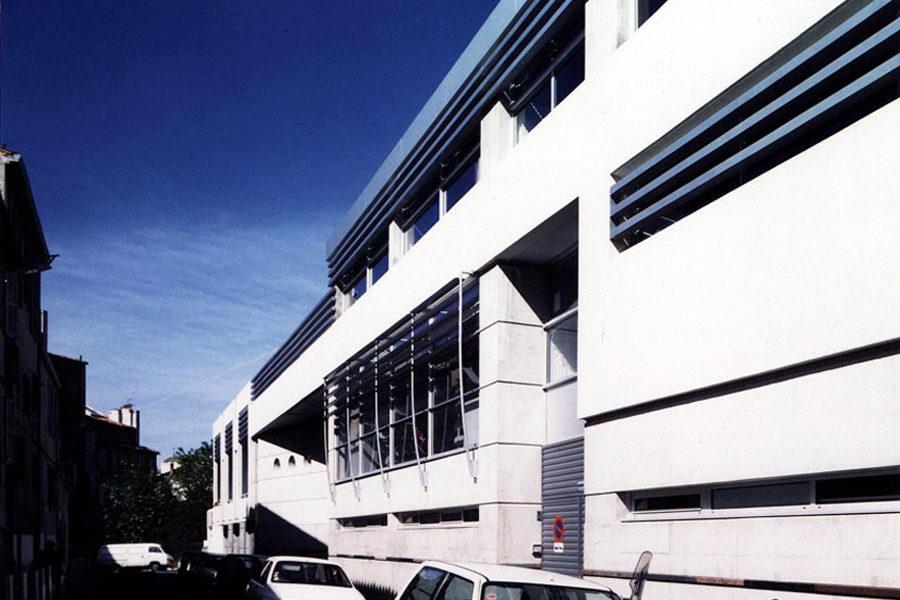 Leteissier Corriol - Agence d'architecture - Collège Chape Marseille  13