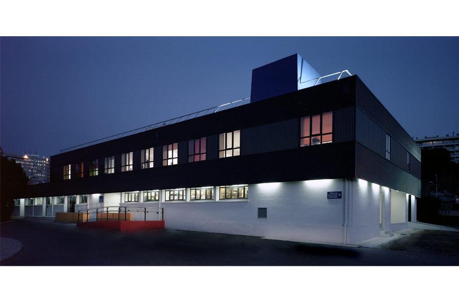 Leteissier Corriol - Agence d'architecture - Bâtiment ateliers du CNRS Marseille 13