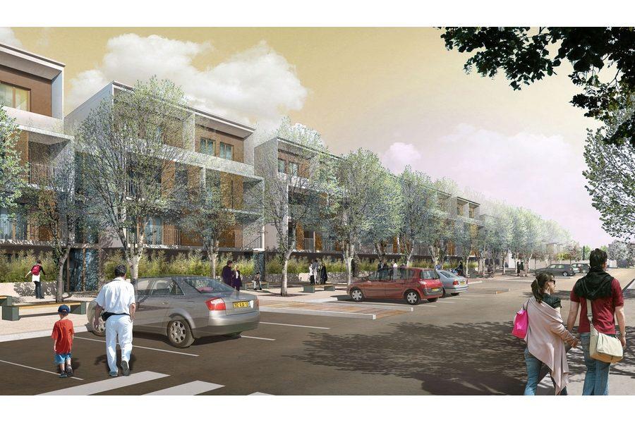 Leteissier Corriol - Agence d'architecture - 60 logements collectifs locatifs intermédiaires Istres 13