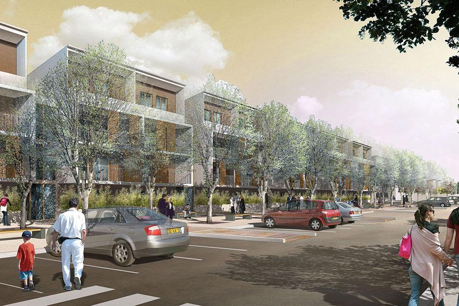Leteissier Corriol - Agence d'architecture - 60 logements Istres 13
