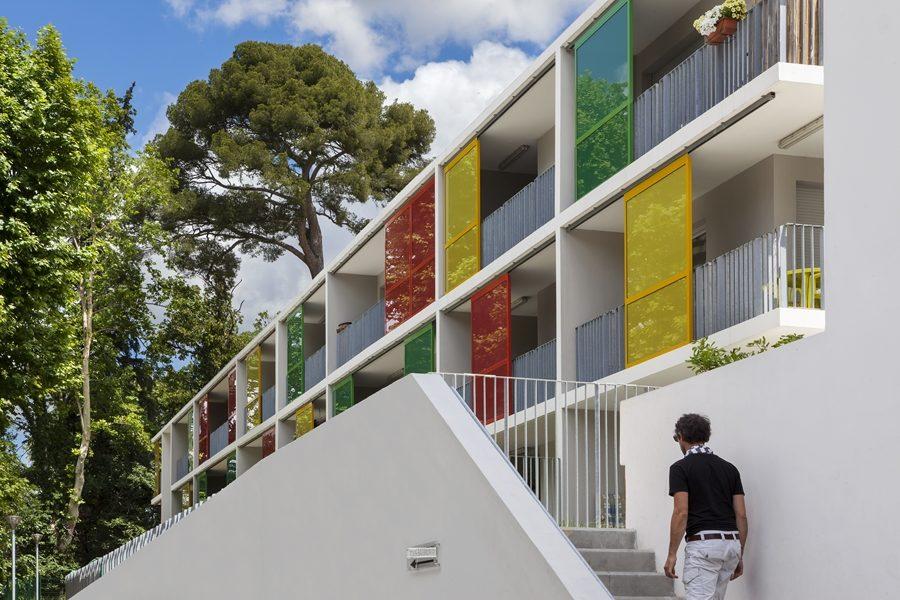 Leteissier Corriol - Agence d'architecture - Résidence de La Forge Marseille 13