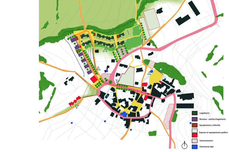Leteissier Corriol - Agence d'architecture - Extension urbaine du village Limans 04