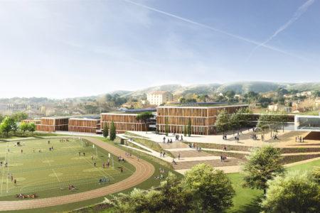 Leteissier Corriol - Agence d'architecture - Lycée de Saint Mitre