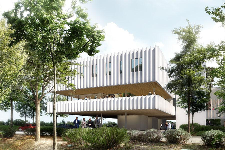 Leteissier Corriol - Agence d'architecture - MMSH Aix-en-Provence 13
