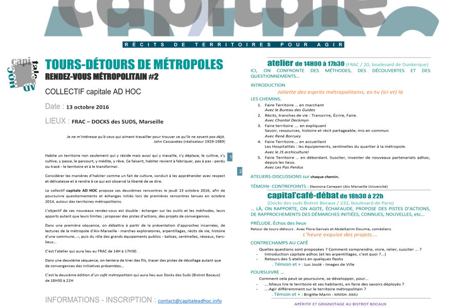 Leteissier Corriol - Agence d'architecture - Rencontre Capitale Ad Hoc