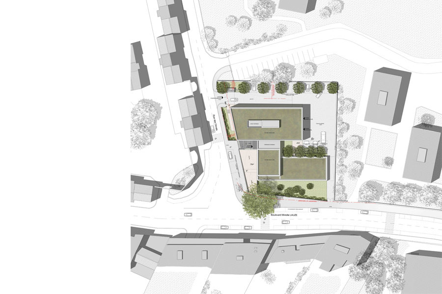 Leteissier Corriol - Agence d'architecture - Commissariat Marseille 13