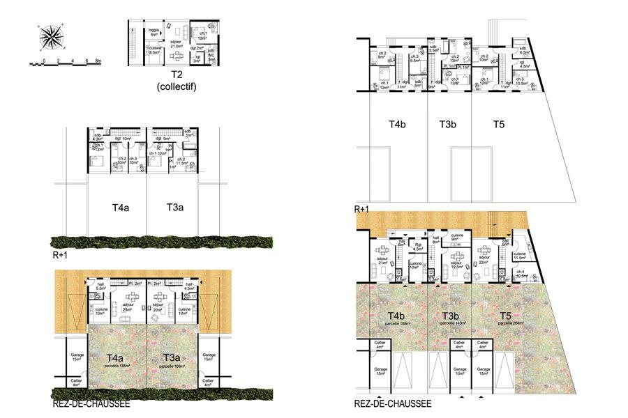 Leteissier Corriol - Agence d'architecture - Opération Jules Vallès Istre 13