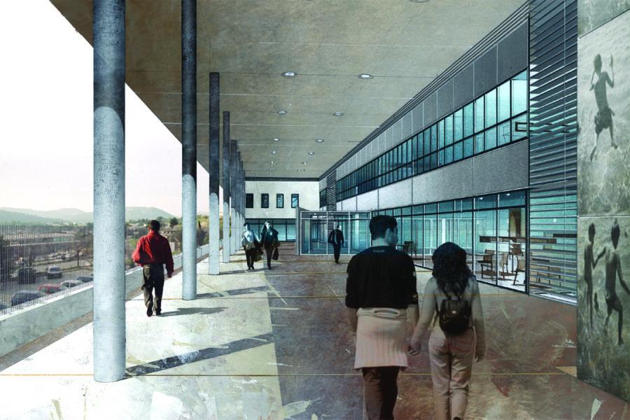 Leteissier Corriol - Agence d'architecture - Faculté des sciences du sport Marseille 13