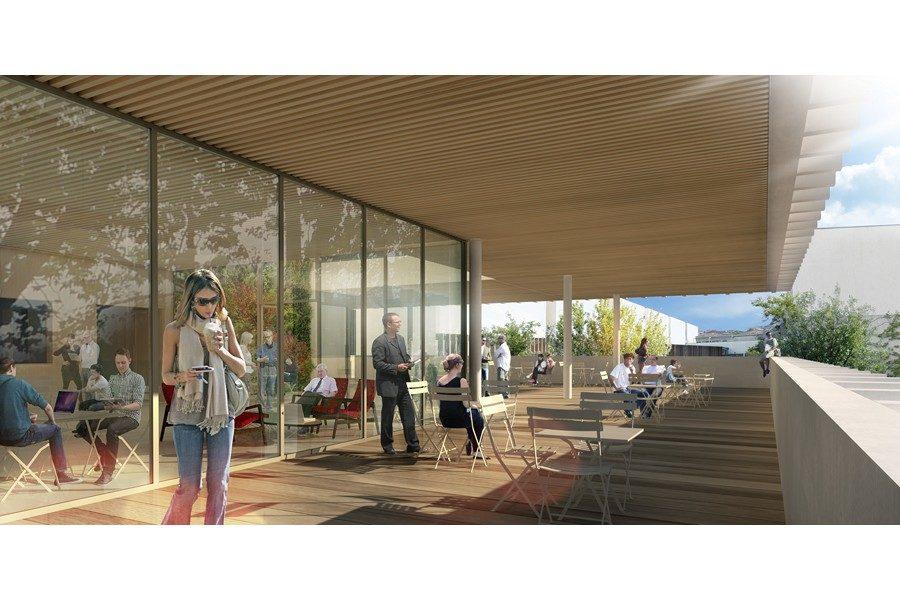 Leteissier Corriol - Agence d'architecture - Maison méditerranéenne des sciences de l'homme Aix-en-Provence 13