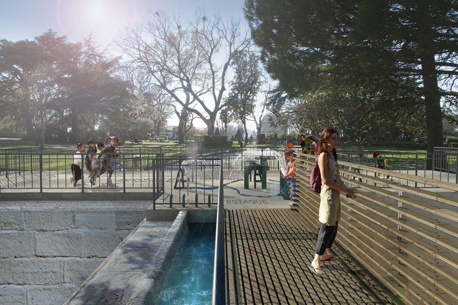 Leteissier Corriol - Agence d'architecture - Musée de l'eau dans le pavillon du partage des eaux Marseille 13