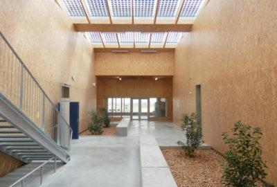Leteissier Corriol - Agence d'architecture - L'Ecocampus de Sainte Tulle bientôt livré