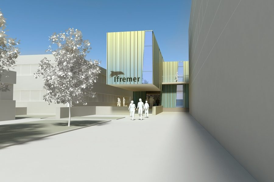 Leteissier Corriol - Agence d'architecture - Ifremer La Seyne sur Mer 83