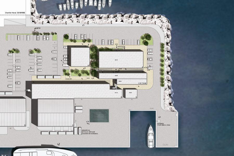 Leteissier Corriol - Agence d'architecture - Centre de technologies sous-marines La Seyne sur Mer 83