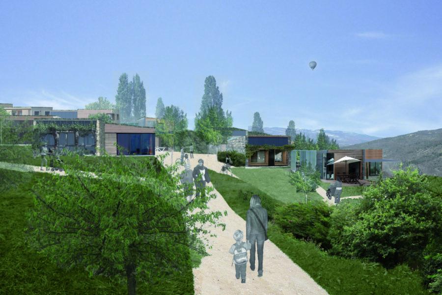 Leteissier Corriol - Agence d'architecture - Extension du village de Limans 04