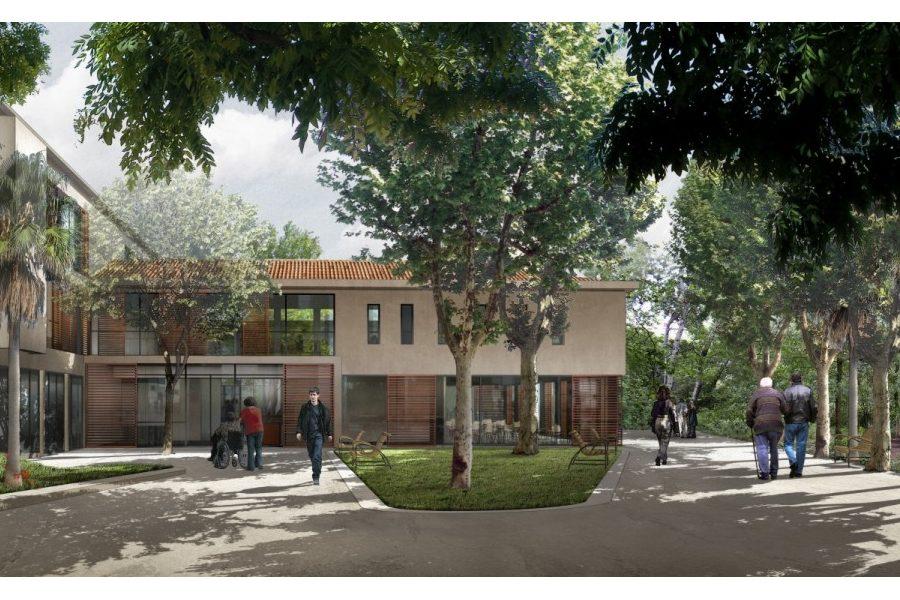 Leteissier Corriol - Agence d'architecture - Foyer d'accueil médicalisé (42 lits) Marseille 13
