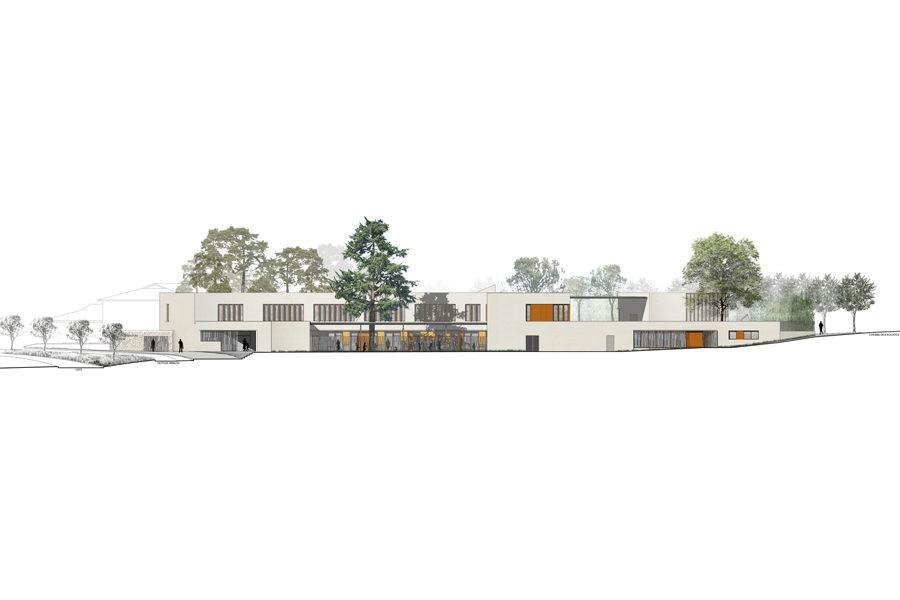Leteissier Corriol - Agence d'architecture - Groupe scolaire La Denise Marseille 13