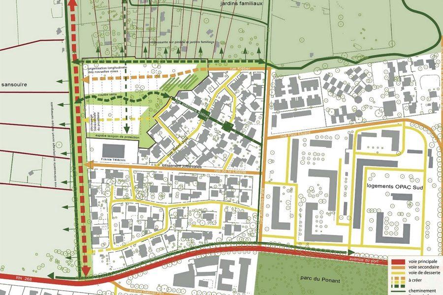Leteissier Corriol - Agence d'architecture - 57 logements Port Saint Louis 13