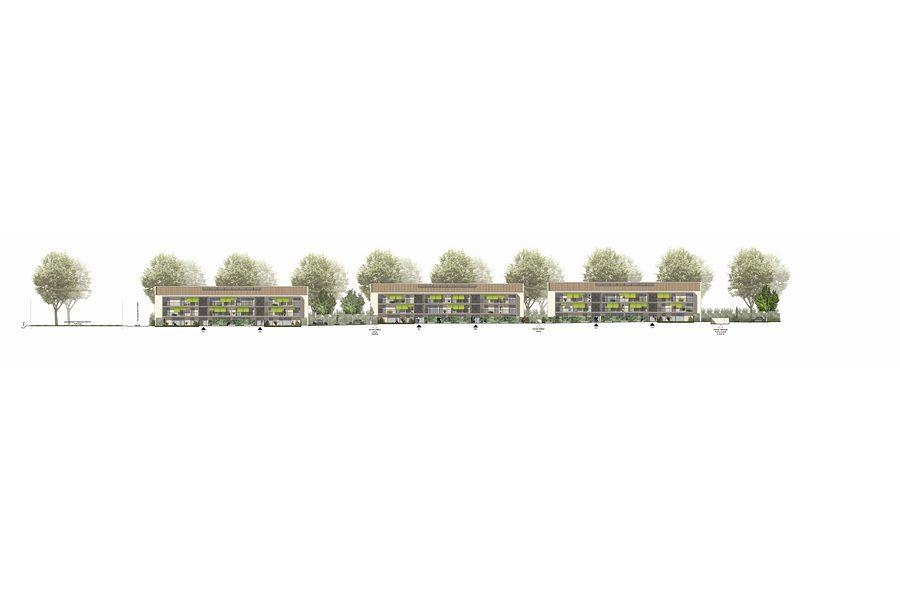 Leteissier Corriol - Agence d'architecture - 74 logements collectifs et individuels Saint Rémy de Provence 13