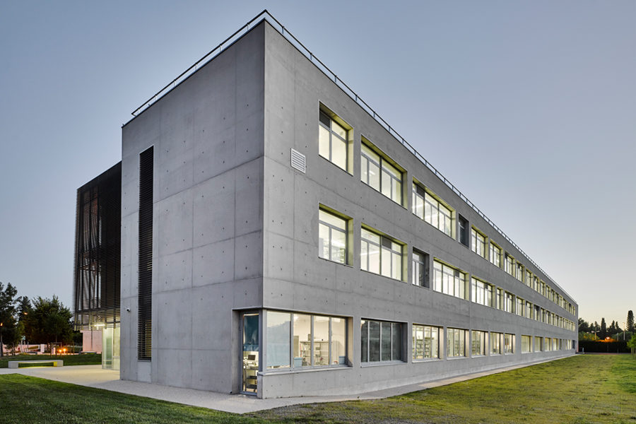 Leteissier Corriol - Agence d'architecture - UFR sciences Avignon 84