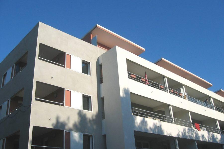 Leteissier Corriol - Agence d'architecture - 42 logements sociaux et foyer travailleurs migrants Cavalaire 83