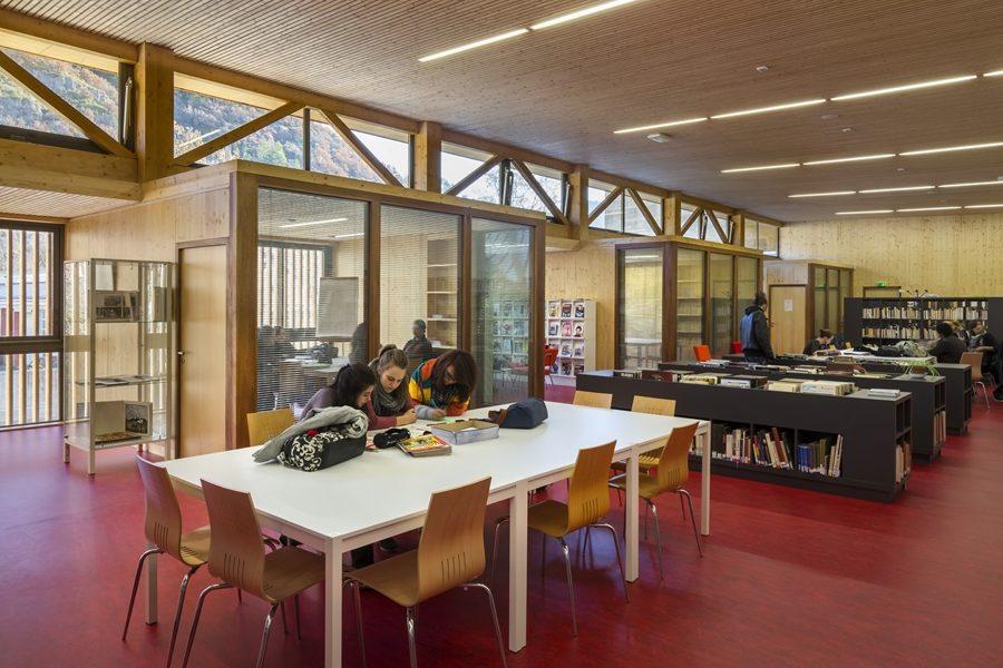 Leteissier Corriol - Agence d'architecture - Lycée Alexandra David Neel Digne-les-Bains 04