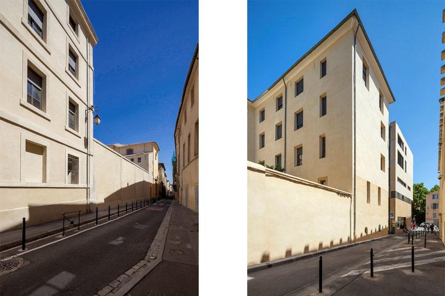 Leteissier Corriol - Agence d'architecture - Collège Campra Aix-en-Provence 13