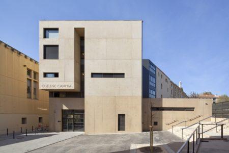Leteissier Corriol - Agence d'architecture - Collège Campra