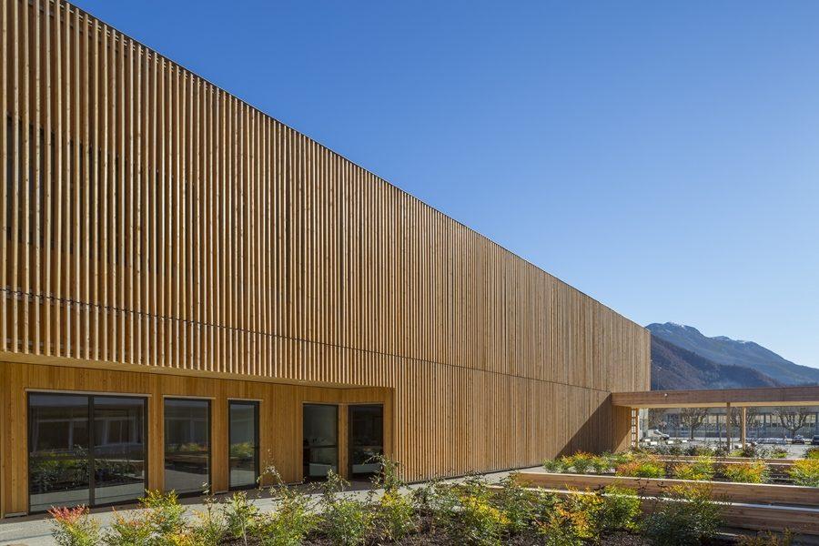 Leteissier Corriol - Agence d'architecture - Lycée Neel Digne-les-Bains 04