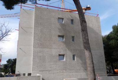 Leteissier Corriol - Agence d'architecture - Suite du chantier Les Danaïdes