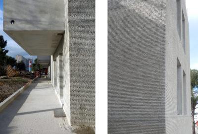 Leteissier Corriol - Agence d'architecture - Avancement du chantier Les Danaïdes Marseille