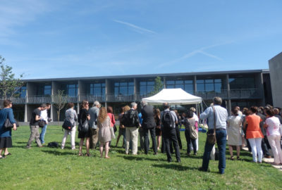 Leteissier Corriol - Agence d'architecture - IMéRA inauguré