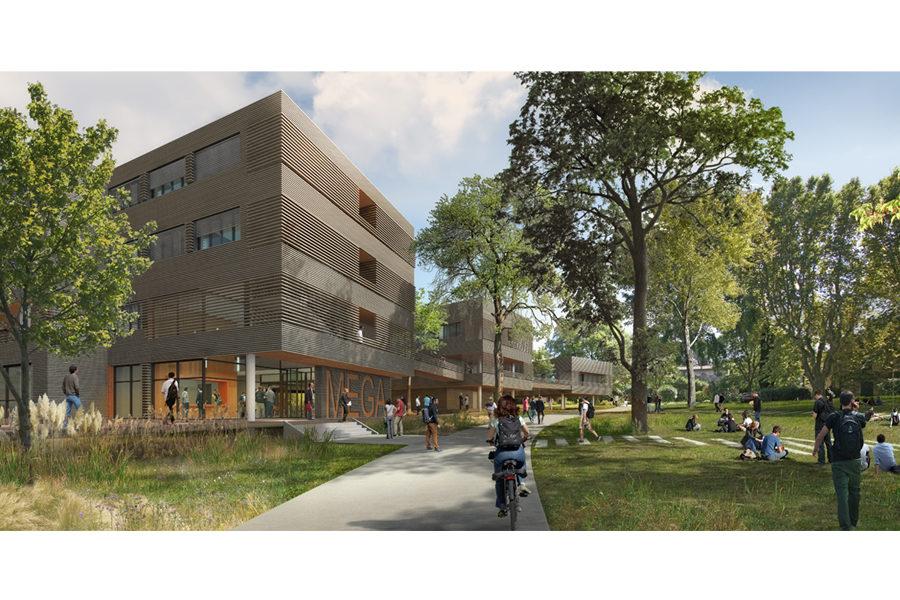 Leteissier Corriol - Agence d'architecture - Maison de l'économie et de la gestion (MEGA) Aix-en-Provence 13