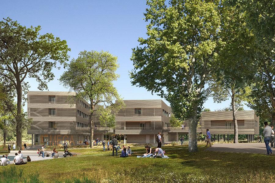 Leteissier Corriol - Agence d'architecture - MEGA Aix-en-Provence 13