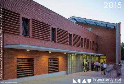 Leteissier Corriol - Agence d'architecture - Nos meilleurs vœux 2015