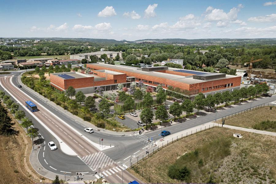Leteissier Corriol - Agence d'architecture - CFA Aix-en-Provence 13