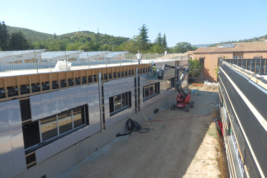 Leteissier Corriol - Agence d'architecture - Suite du chantier Ecocampus