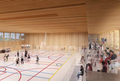Leteissier Corriol - Agence d'architecture - Plateforme sportive