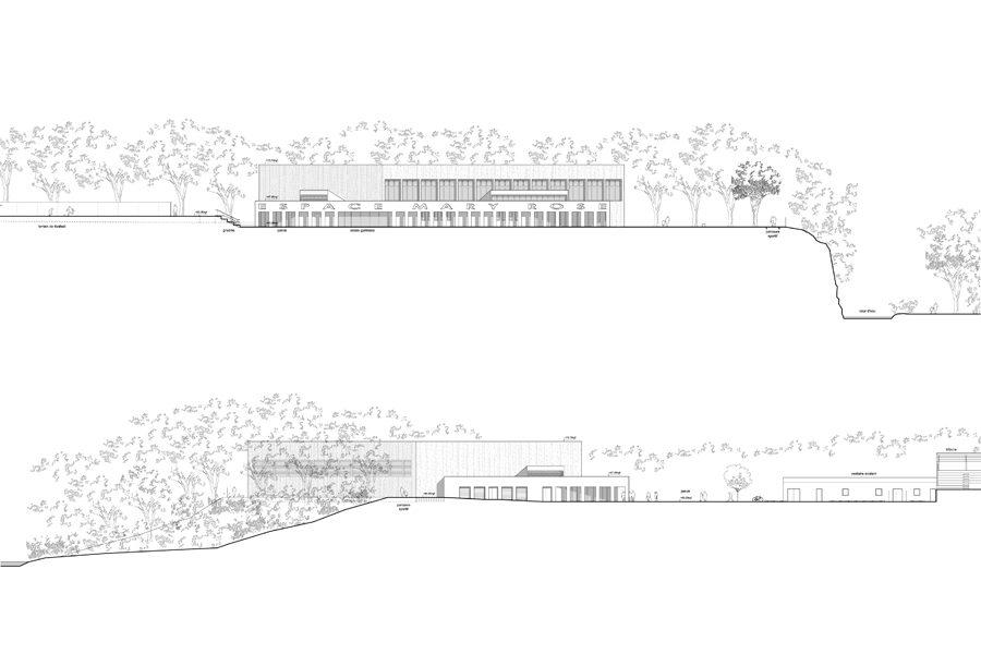 Leteissier Corriol - Agence d'architecture - Plateforme sportive Grans 13