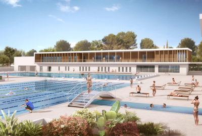 Leteissier Corriol - Agence d'architecture - Stade nautique