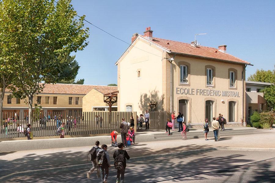 Leteissier Corriol - Agence d'architecture - Ecole primaire Pélissanne 13
