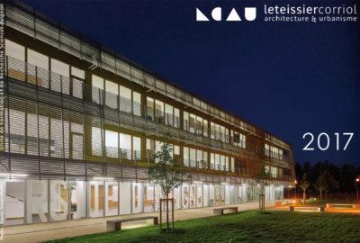 Leteissier Corriol - Agence d'architecture - Bonne année 2017