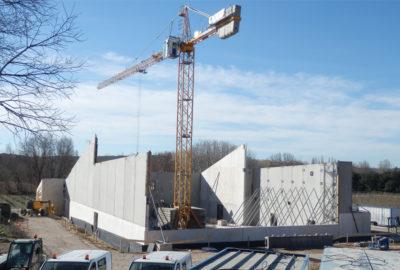 Leteissier Corriol - Agence d'architecture - Démarrage du chantier du lycée vitivinicole d'Orange