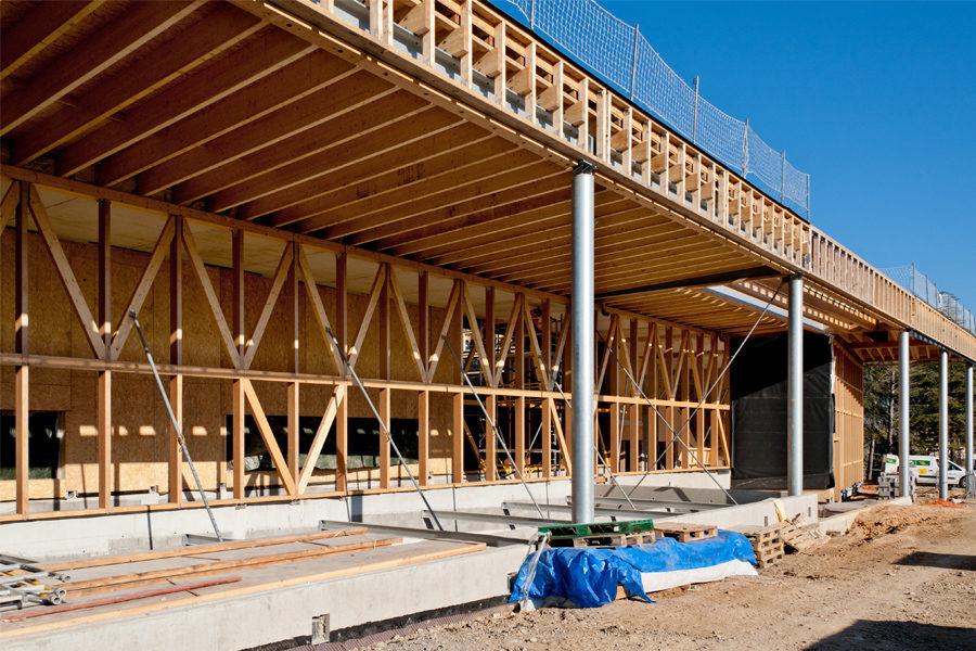 Leteissier Corriol - Agence d'architecture - Suite du chantier Ecocampus