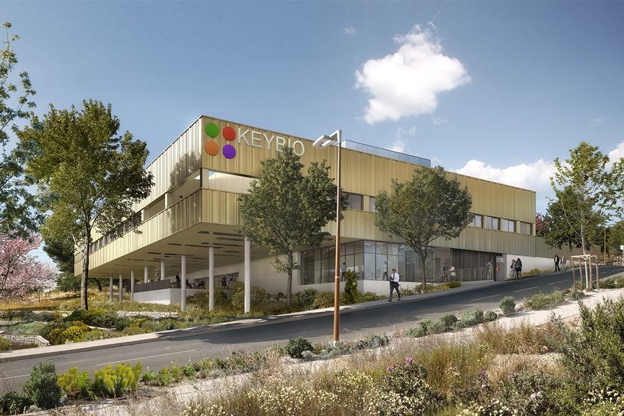 Leteissier Corriol - Agence d'architecture - Laboratoire d'analyses industrielles La Ciotat 13