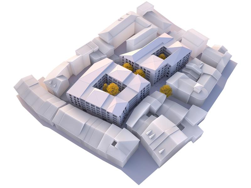 Leteissier Corriol - Agence d'architecture - Le Carré de l'Imprimerie Gap 05