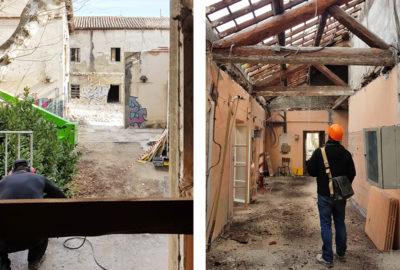 Leteissier Corriol - Agence d'architecture - Chantier Alauzen en avant !