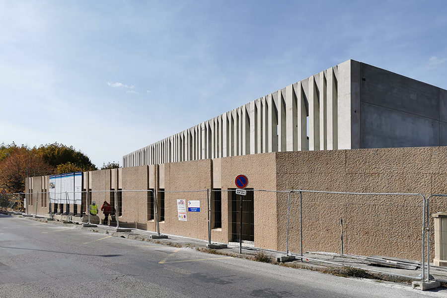 Leteissier Corriol - Agence d'architecture - Gymnase dans TPBM