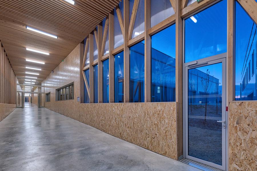 Leteissier Corriol - Agence d'architecture - Ecocampus finaliste des trophées de la construction 2018 catégorie ERP