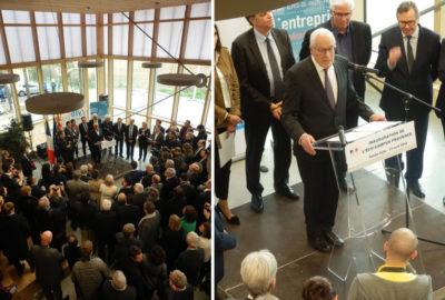Leteissier Corriol - Agence d'architecture - Inauguration de l'Ecocampus Provence de Sainte Tulle (04)