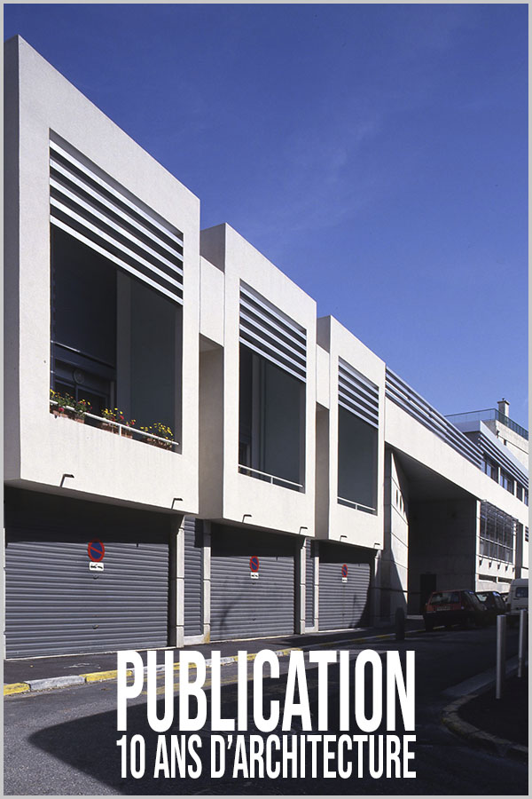 Leteissier Corriol - Agence d'architecture - «10 ans d'architecture de collèges Bouches du Rhône» Editions MAV PACA 1993